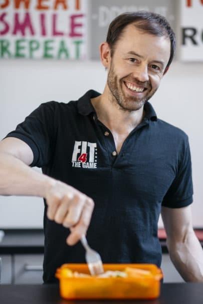 Ernährungsberatung Hamburg mit Gavin Nugent
